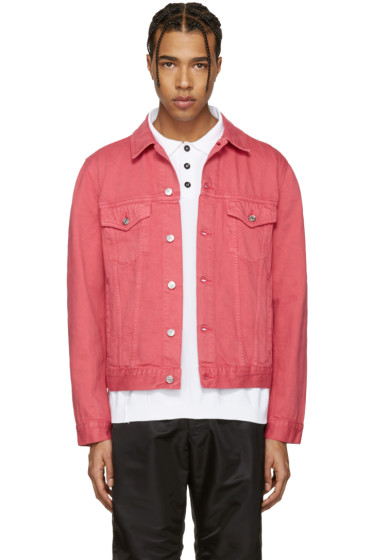 Acne Studios - Pink Beat Denim Jacket