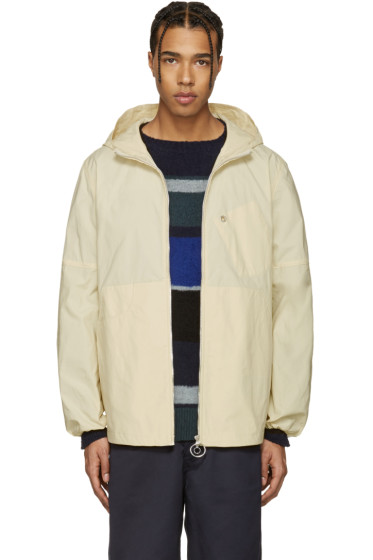 Acne Studios - Ecru Canvas Motion Jacket