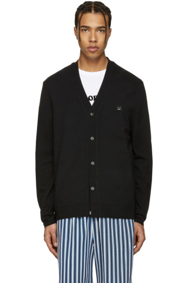 Acne Studios - Black Dasher C Face Cardigan