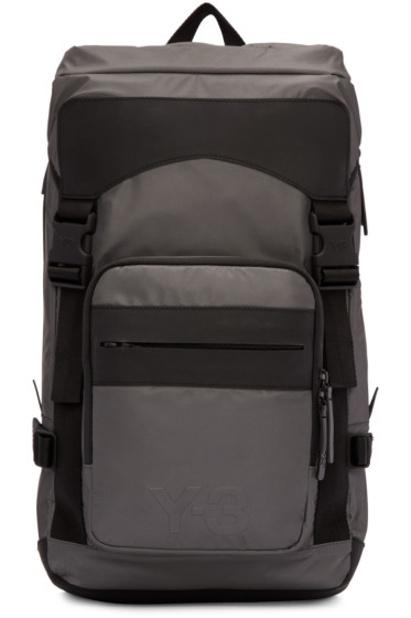 Y-3 - Grey Ultratech Backpack