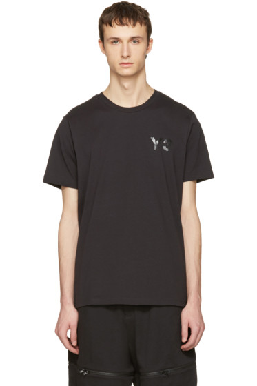 Y-3 - Black M CL T-Shirt