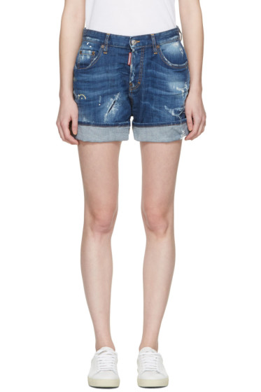 Dsquared2 - Blue Kawaii Shorts