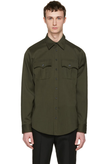 Dsquared2 - Green Military Shirt