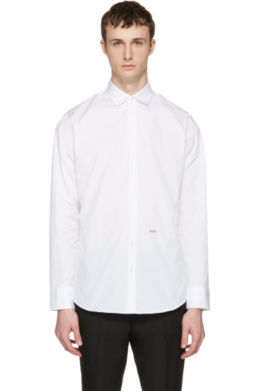 Dsquared2 - White M.B. Shirt