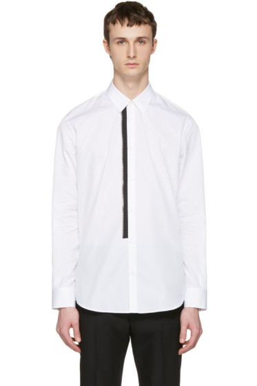 Dsquared2 - White Zip Detail Shirt