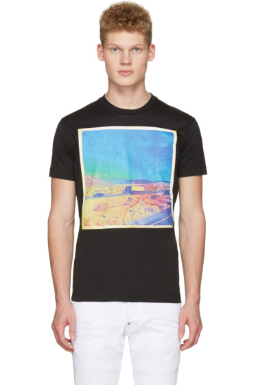 Dsquared2 - Black Road Trip T-Shirt