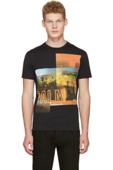 Dsquared2 - Black Palm T-Shirt