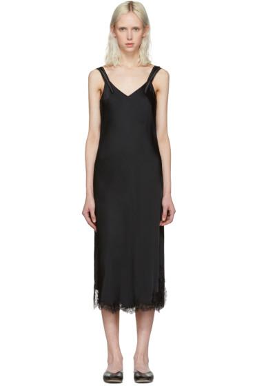 Helmut Lang - Black Lace Slip Dress