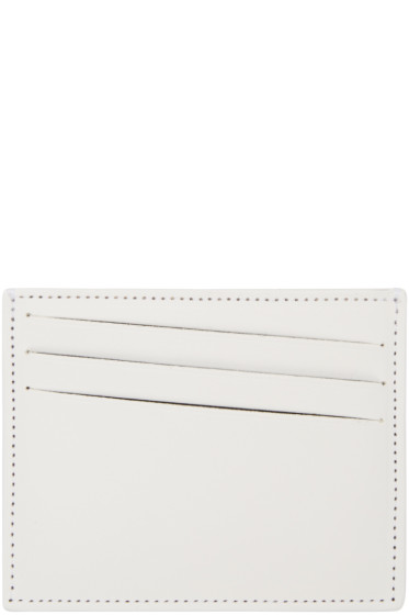 Maison Margiela - White Classic Card Holder