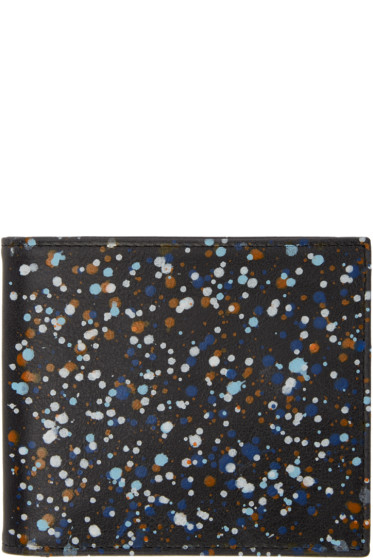 Maison Margiela - Black Paint Splatter Wallet