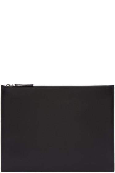 Maison Margiela - Black Classic Leather Pouch