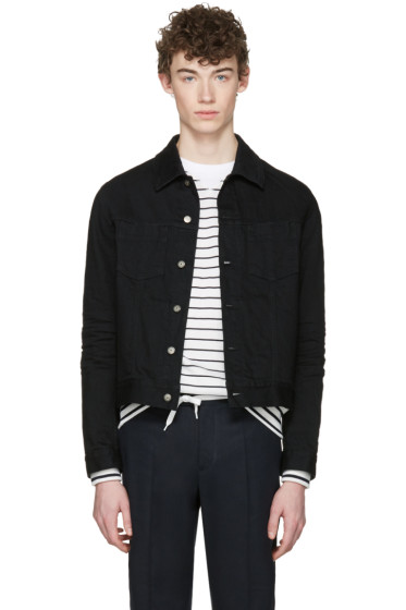 Maison Margiela - Black Denim Jacket