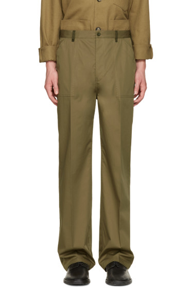 Maison Margiela - Green Replica Fatigue Trousers