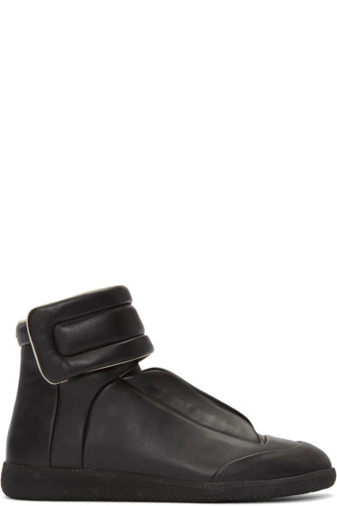 Maison Margiela - Black Future High-Top Sneakers