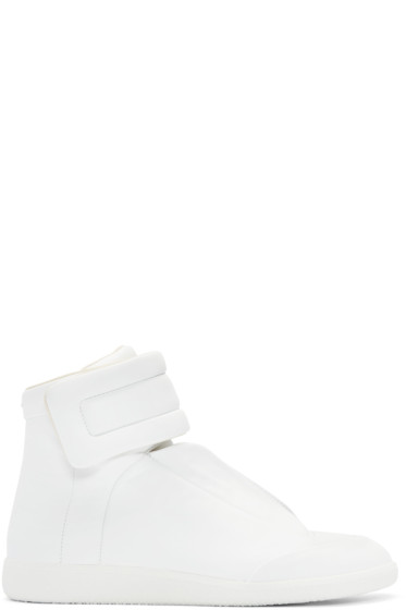 Maison Margiela - White Future High-Top Sneakers