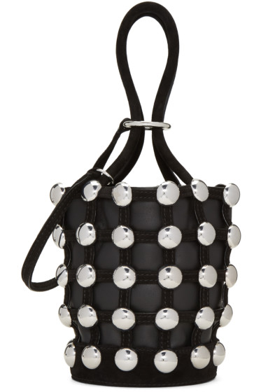 Alexander Wang - Black Mini Roxy Bucket Bag