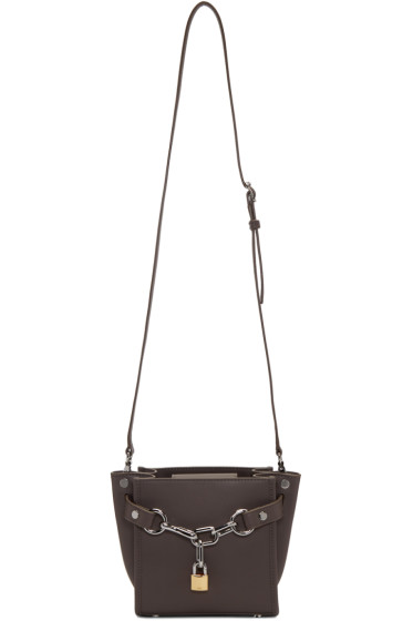 Alexander Wang - Grey Mini Attica Shoulder Bag