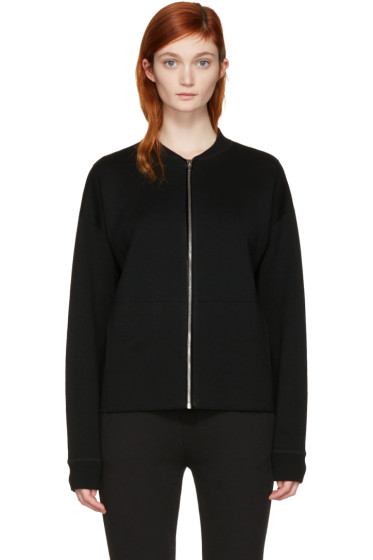 Alexander Wang - Black Knit Zip Jacket