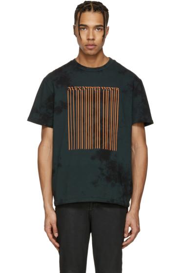 Alexander Wang - Green TD Bar Code T-Shirt