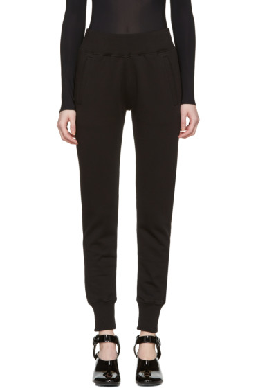 MM6 Maison Margiela - Black Basic Lounge Pants