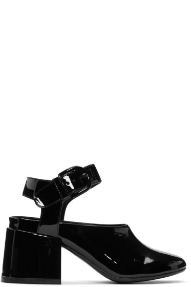 MM6 Maison Margiela - Black Cube Mary Jane Heels