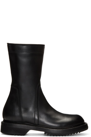 Rick Owens - Black Creeper Boots