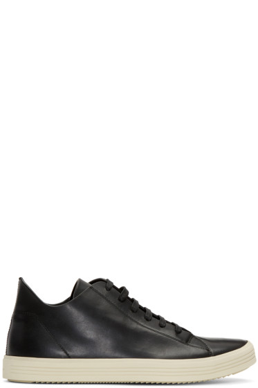Rick Owens - Black Mastodon Low Sneakers