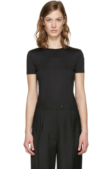 Jil Sander - Black Cotton T-Shirt