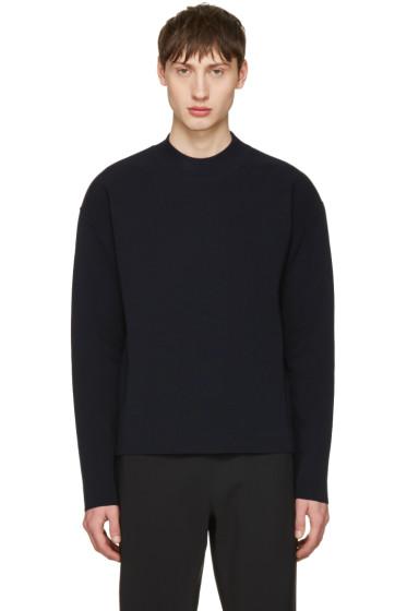 Jil Sander - Navy Cotton Sweater