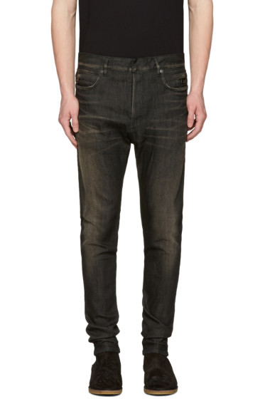 Balmain - Black Low-Rise Jeans