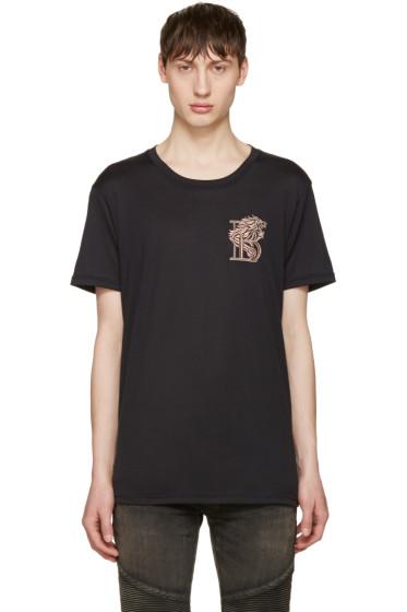 Balmain - Black Lion T-Shirt
