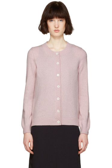 A.P.C. - Pink Jackie Cardigan
