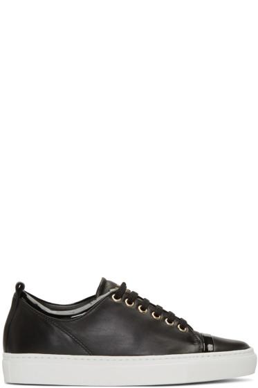 Lanvin - Black Leather Sneakers