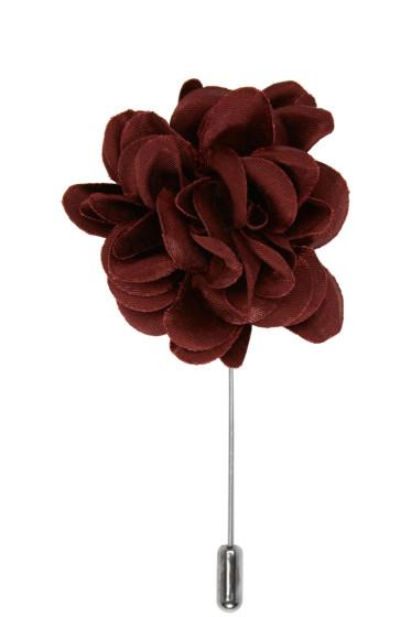 Lanvin - Burgundy Rose Tie Pin