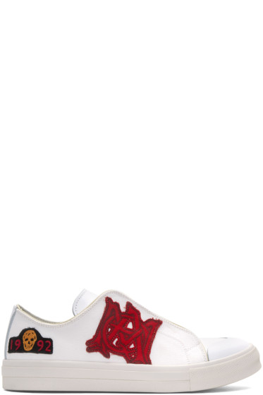 Alexander McQueen - White Insignia Sneakers