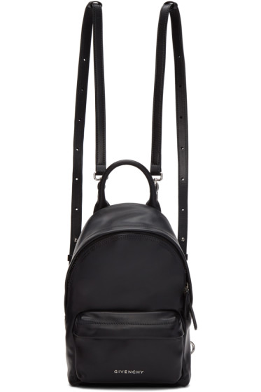 Givenchy - Black Leather Nano Backpack