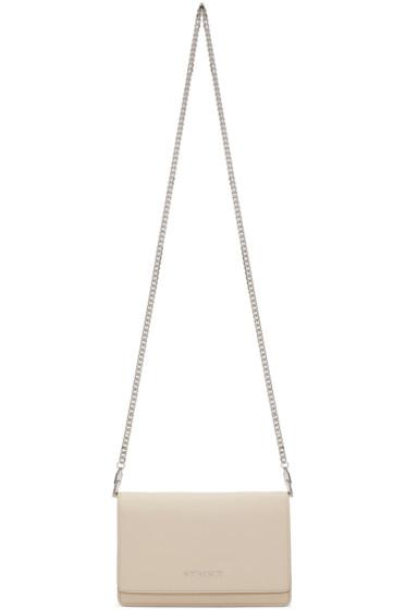 Givenchy - Beige Pandora Wallet Chain Bag