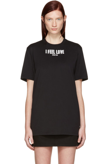 Givenchy - Black 'I Feel Love' T-Shirt