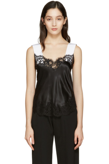 Givenchy - Black Silk Lace Camisole