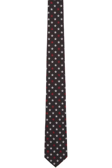 Givenchy - Black Star Tie