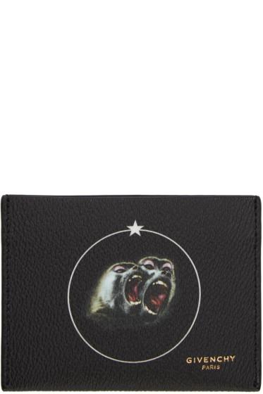 Givenchy - Black Monkey Brothers Card Holder