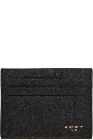 Givenchy - Black Logo Card Holder