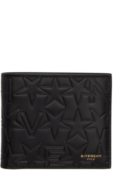 Givenchy - Black Logo-Embossed Wallet