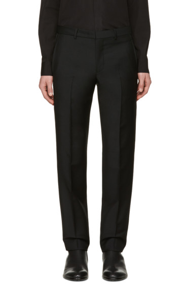 Givenchy - Black Star Studs Trousers