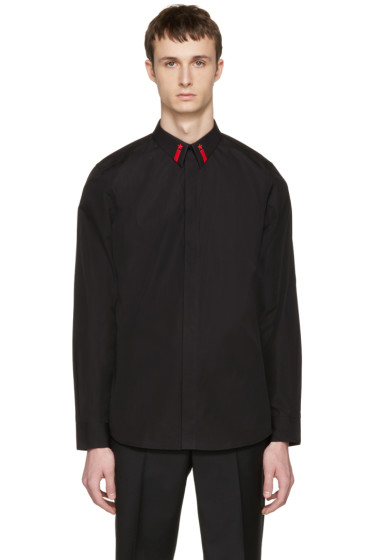 Givenchy - Black Star Collar Shirt