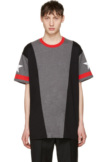Givenchy - Grey Star T-Shirt