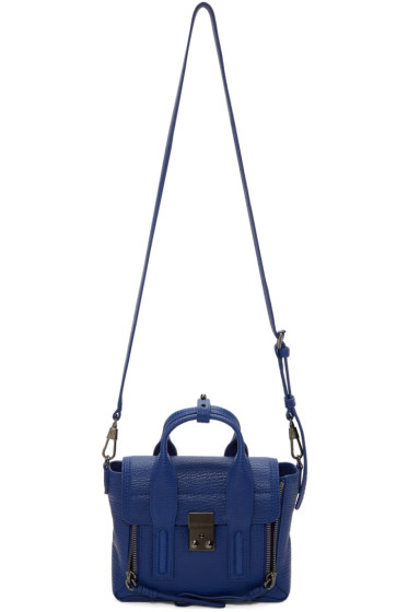 3.1 Phillip Lim - Blue Mini Pashli Satchel