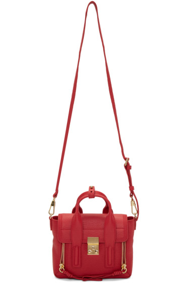 3.1 Phillip Lim - Red Mini Pashli Satchel
