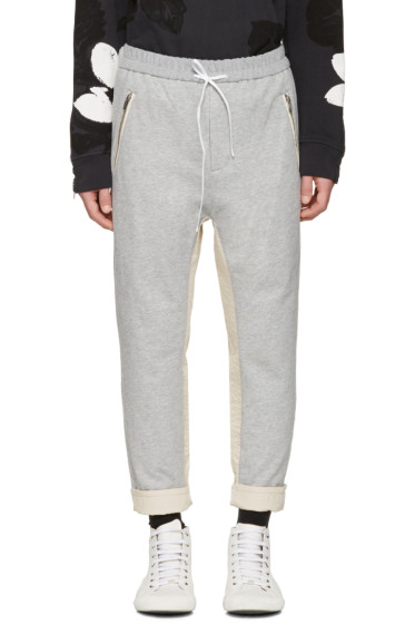 3.1 Phillip Lim - Grey Tapered Lounge Pants