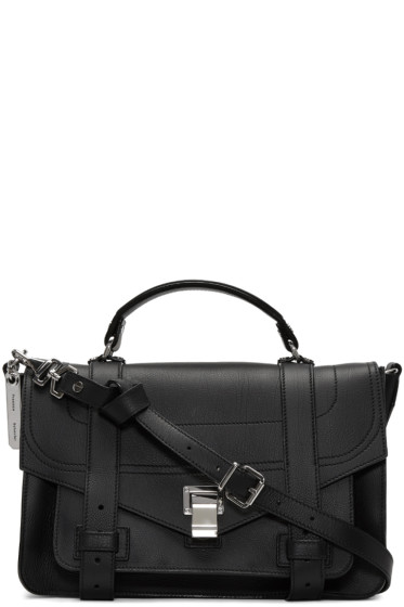 Proenza Schouler - Black Medium PS1+ Satchel